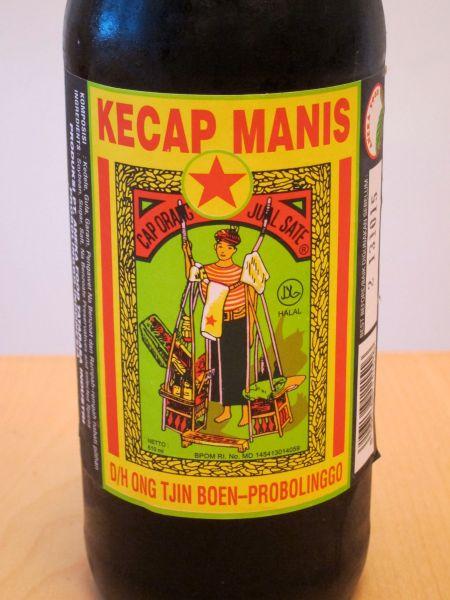 Kicap manis closeup